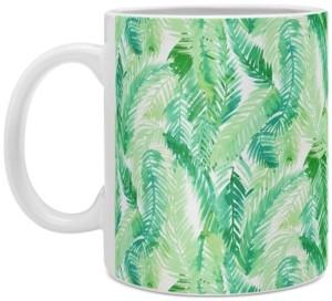 Deny Designs Amy Sia Fern Palm Green Coffee Mug