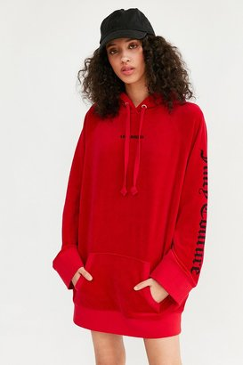Juicy Couture For UO Oversized Velour Hoodie $149 thestylecure.com