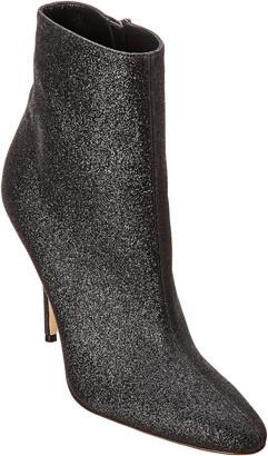 Manolo Blahnik Insopo 105 Glitter Leather Bootie