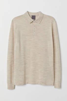 H&M Merino Wool Sweater - Beige