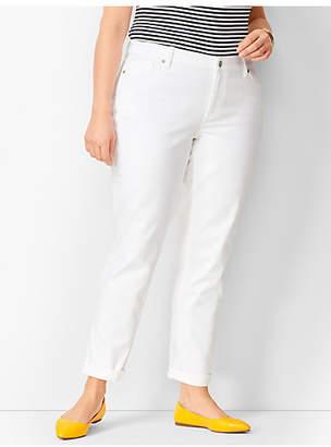 Talbots Girlfriend Jeans - White