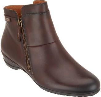 PIKOLINOS Leather Zip Ankle Boots - Venezia