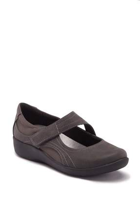 Clarks Sillian Bella Mary Jane Flat - Wide Width Available