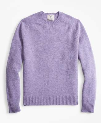 Brooks Brothers Limited-Edition Braemar Shetland Lambswool Crewneck Sweater