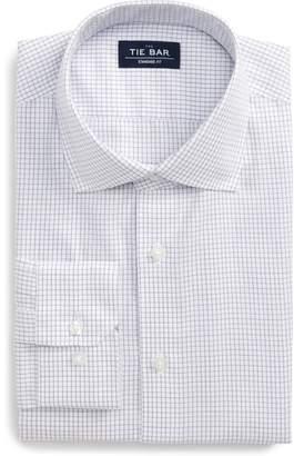 The Tie Bar Standard Fit Check Dress Shirt