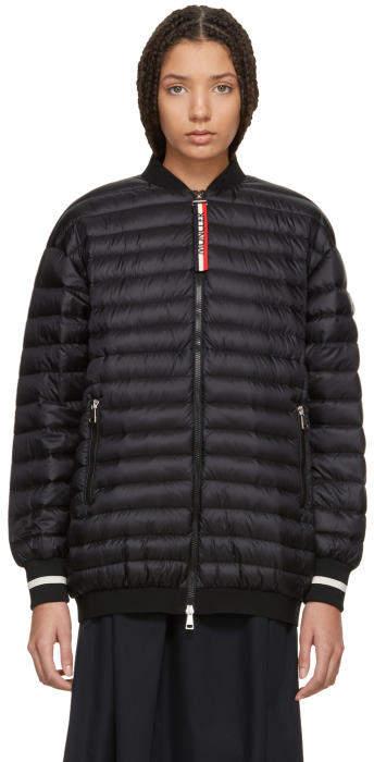 Moncler Black Down Charoite Jacket