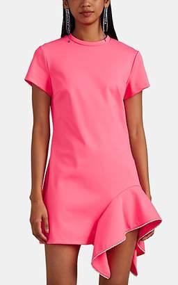 Area Women's Crystal-Embellished T-Shirt Dress - Pink