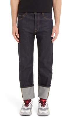 Valentino Cuff Jeans