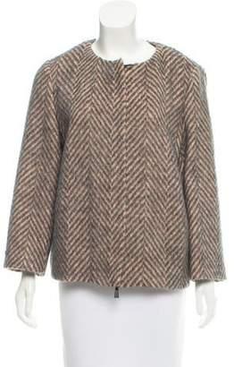 Peserico Herringbone Wool Jacket w/ Tags