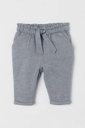 H&M Trousers with turn-u