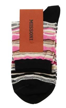Missoni Striped Sock
