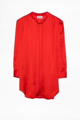 Zadig & Voltaire Zadig Voltaire Touch Satin Tunic