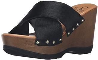 Callisto Women's Cinamon Wedge Sandal