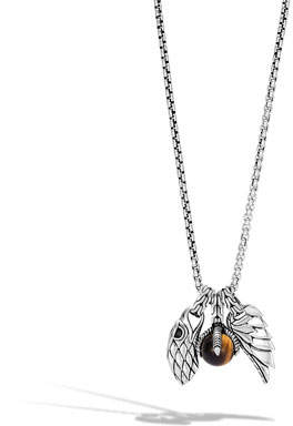 John Hardy Men's Legends Eagle Amulet Pendant Necklace