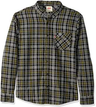 Levi's Men's Tongass Plaid Shirt