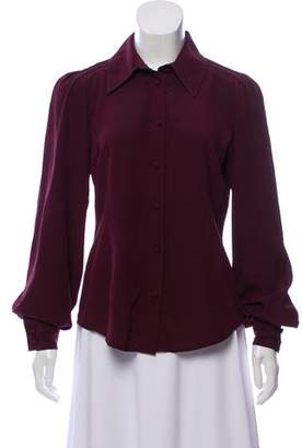 Marc Jacobs Collared Button-Up Top