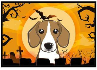 Caroline's Treasures Halloween Beagle Doormat Mat