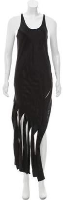 Alexander Wang Silk Fringed Dress