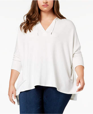 Style&Co. Style & Co Plus Size V-Neck Hoodie