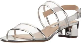 Nina Women's Ganice Dress Sandal, YM-b-Silver