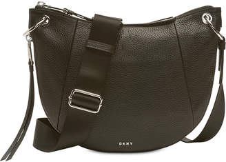 DKNY Tompson Pebble Leather Crossbody