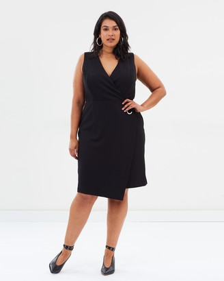 Wrap Dress with Grommet