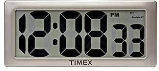 "Timex 75071TA2 13.5"" Large Digital Clock with 4"" Digits and Intelli-Time Technology"