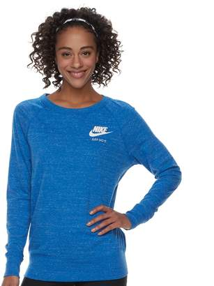 Nike Women's Gym Vintage Crew Top