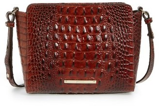 Brahmin Melbourne Carrie Leather Crossbody Bag - Brown $195 thestylecure.com