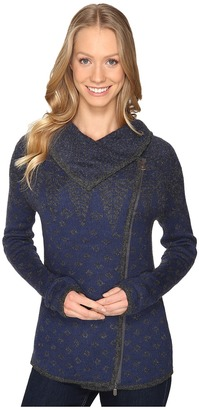 Royal Robbins Autumn Pine Zip Cardigan $90 thestylecure.com