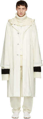 Jil Sander White Rubiana Vest Coat