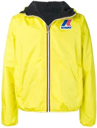 K-Way padded hooded jacket