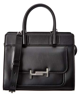 Tod's Tods Double T Small Leather Satchel.