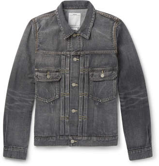 Visvim Social Sculpture 101 Washed Selvedge Denim Jacket