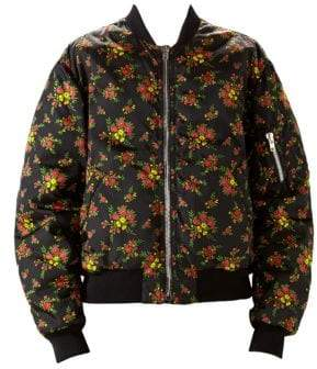 Gucci Floral Bouquets Nylon Jacket