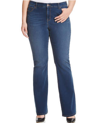 Style&Co. Style & Co Plus & Petite Plus Size Tummy-Control Bootcut Jeans, Created for Macy's