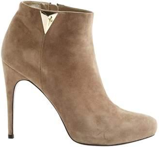 Cesare Paciotti Grey Suede Ankle boots