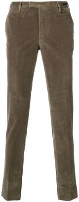 Pt01 corduroy skinny trousers