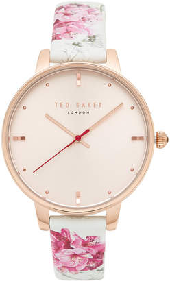 Ted Baker Rose Gold-Tone Watch & Interchangeable Strap Set