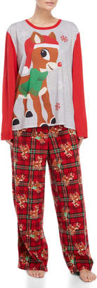 Rudolph Two-Piece Character Family PJ Set