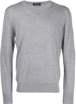 Ermenegildo Zegna fine knit sweater