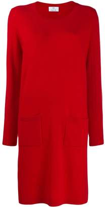 Allude fine knit sweater dress