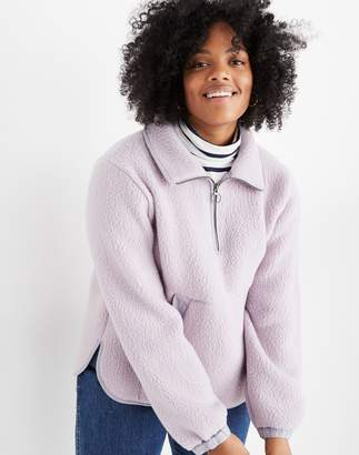 Madewell Polartec Fleece Popover Jacket