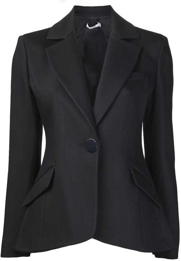 Altuzarra 'Acacia' single button blazer