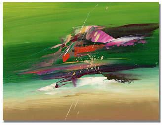 """Abracada Bra Tapia 'Abracadabra Ii' Canvas Art - 32"""" x 26"""""""