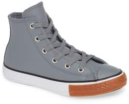 Converse Chuck Taylor(R) All Star(R) No Gum In Class Leather High Top Sneaker