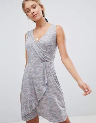 Gilli Drape Front Midi Dress
