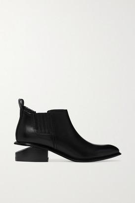 Alexander Wang Kori Cutout Leather Chelsea Boots - Black