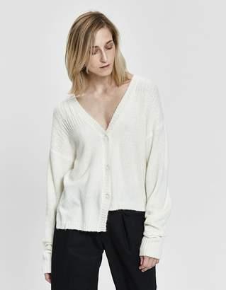 Inexclsv Zoe Knit Cardigan in White