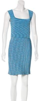 Issa Textured Mini Dress